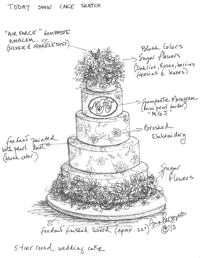 Sketch A Cake Design : For the Love of Cake! by Garry & Ana Parzych: October 2010